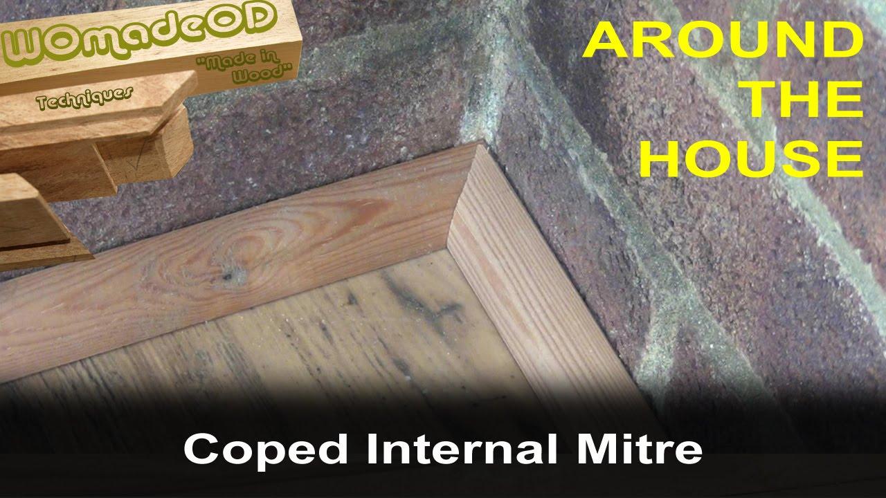 Baseboard Quadrant Floor Trim 2 Coped Internal Mitre