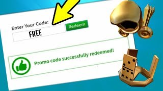 ALL WORKING PROMO CODES ON ROBLOX 2019 *AUGUST* | ROBLOX PROMO CODE