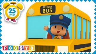 🚌 WHEELS ON THE BUS [ 25 minutes ] | +More Nursery Rhymes for Kids and Baby Songs by Pocoyo