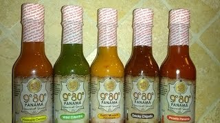 "980 Panama Gourmet Sauce ""garlic Mustard Habanero"" Review"