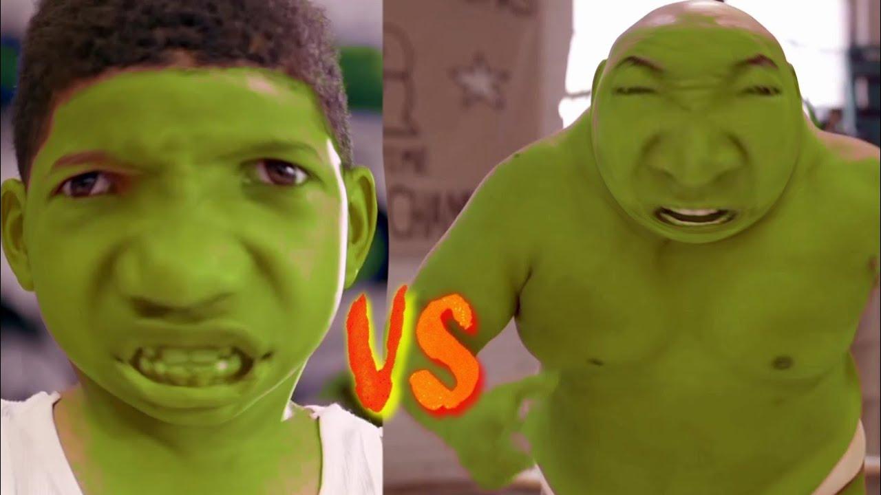Fat Hulk vs Skinny Hulk