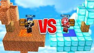 Minecraft ITA - LUCKY BLOCK GIGANTI DI DIAMANTE VS DI TERRA!!
