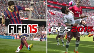 FIFA 15 VS PES 15 - MY CLUB BETTER THAN  ULTIMATE TEAM???