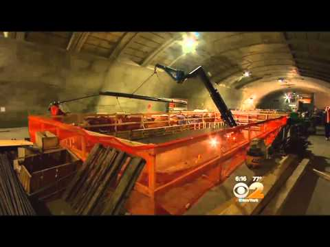 CBS 2 Exclusive: A Look At Construction On The Second Avenue Subway