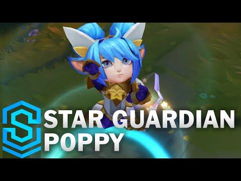 Star Guardian Poppy Skin Spotlight - Pre-Release - League of Legends