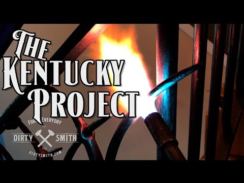 The Kentucky Project to install a railing, chandelier and fireplace door
