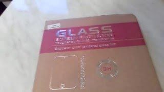 Обзор защитного стекла ALL SPARES для планшета Samsung N8000 Galaxy Note 10.1