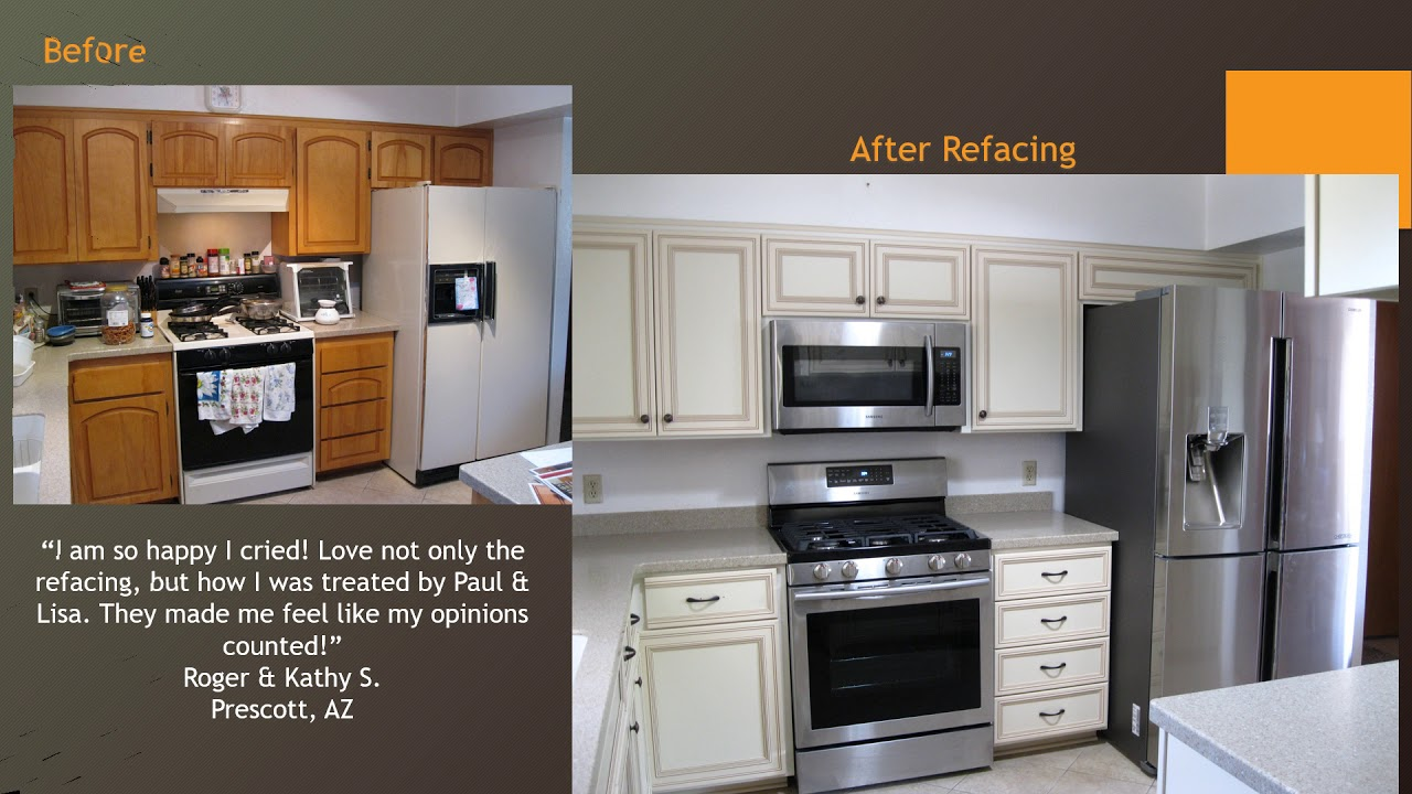 Kitchen tune up franchise owners paul lisa peterson