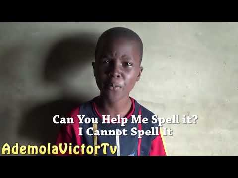 African boy has the most difficult name to read