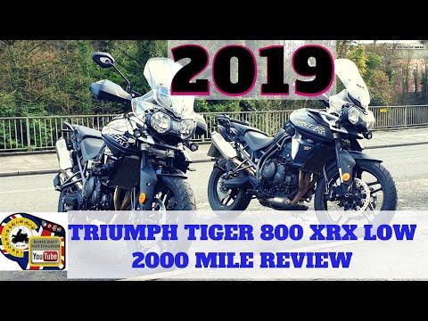 2019 Triumph Tiger 800 xrx low 2000 mile review (with a problem)