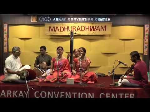 Mummoortihalai panivai - Ravikiran's tribute to Carnatic Trinity - Surati - Adi | Anahita & Apoorva