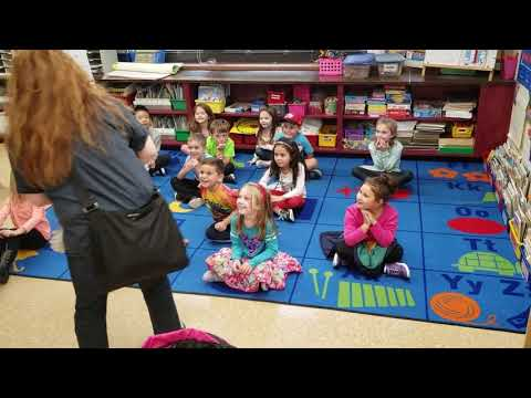 Woof at Fort Salonga Elementary School Therapy Dogs of Long Island