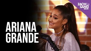 For More Interviews, Subscribe  ►► http://bit.ly/29PqCNm #ArianaGrande stopped by the studio for the #Sweetener Slumber Party! She talked with us about her engagement to #PeteDavidson, her friendship with #NickiMinaj and her new album Sweetener!  Hear Sweetener here ►►https://apple.co/2Mp2KE7  Listen to the Podcast ►► http://apple.co/2mxKtMu  Follow us: Twitter ►►https://twitter.com/zachsangshow Facebook ►►https://www.facebook.com/ZachSangShow/ Instagram ►►https://www.instagram.com/zachsangshow/ Snapchat ►►https://www.snapchat.com/add/ZachSang...  www.zachsangshow.com