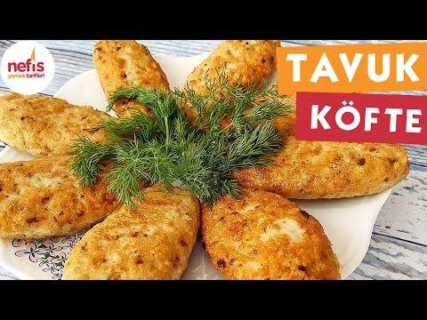 Kaşarlı Tavuk Köfte Yapılışı Videosu