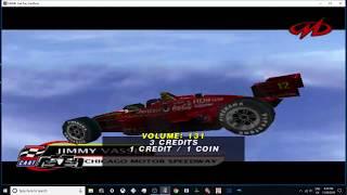 MAME 203 CART Fury Championship Racing 2000 -expert midway 1080p 60fps uk arcades