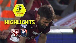 FC Metz - SM Caen ( 1-1 ) - Highlights - (FCM - SMC) / 2017-18