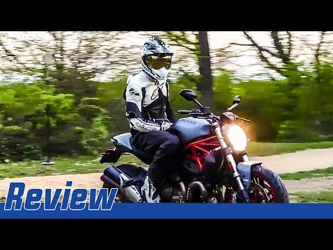 Ducati Monster 821 Action Review │ First Ride │ Cracking Mechanics