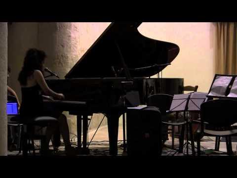 """Luisa Tucciariello """"3 Lacy Songs"""" @ St. Pietro's Church 13th June 2014 - Monopoli (Italy)"""