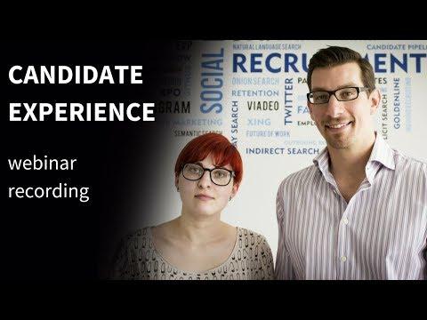 Candidate Experience [EN webinar recording]
