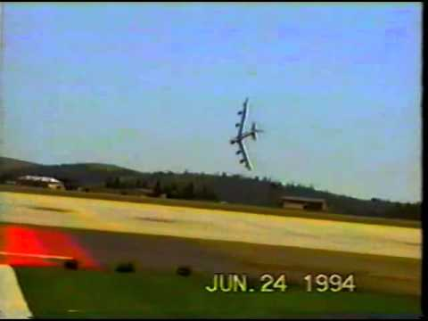 1994 Crash of a B 52 at Fairchild Air Force Base RIP