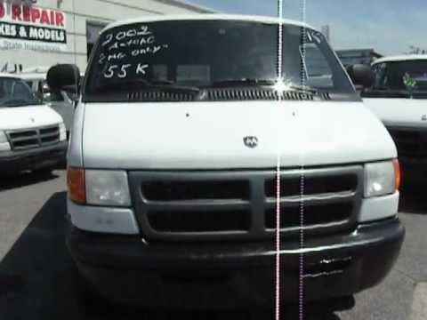 2002 Dodge Ram Van 2500 Cargo Cng Used Vans Hicksville Ny Levittown Long Island