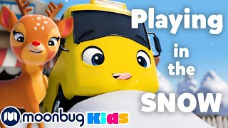 Playing in the Snow + MORE | Go Buster! | Stories & Kids Songs | Stories and Fairy Tales for Kids