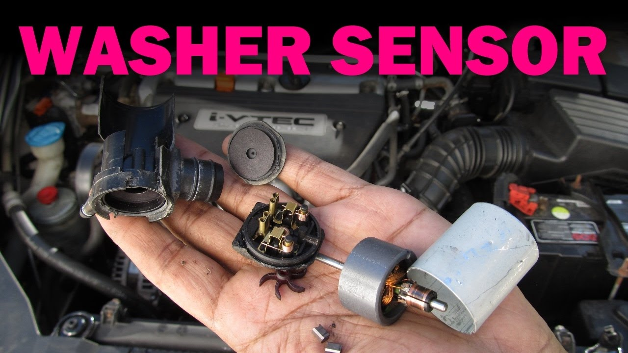 hight resolution of windshield washer sensor replacement