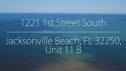 1221 1st St S Apt 11B Jacksonville Beach, FL 32250 - Call Janie at 904-525-1008