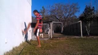 wall flip tutorial how to do a wall backflip