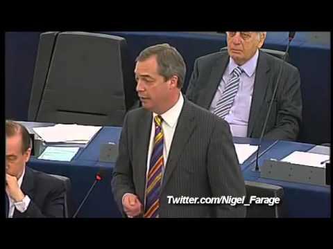 Nigel Farage EURO CRISIS 2013 - Enough is Enough!