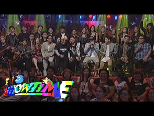 It's Showtime: It's Showtime family sing Anne, Nadine and Ryan's favorite song