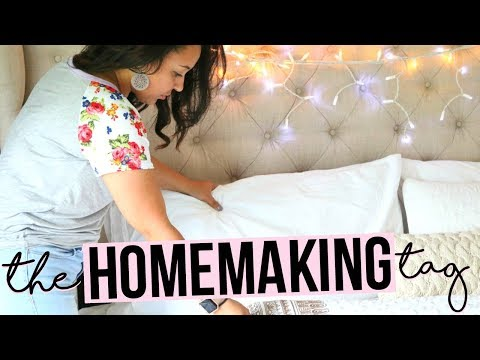 THE HOMEMAKING TAG 2017 | ANSWERING ALL YOUR QUESTIONS ABOUT HOMEMAKING!! | Page Danielle