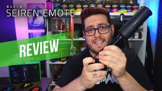 Razer Seiren Emote Streamer Microphone Review
