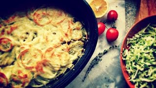 Рыба с картофелем, запеченная под сыром