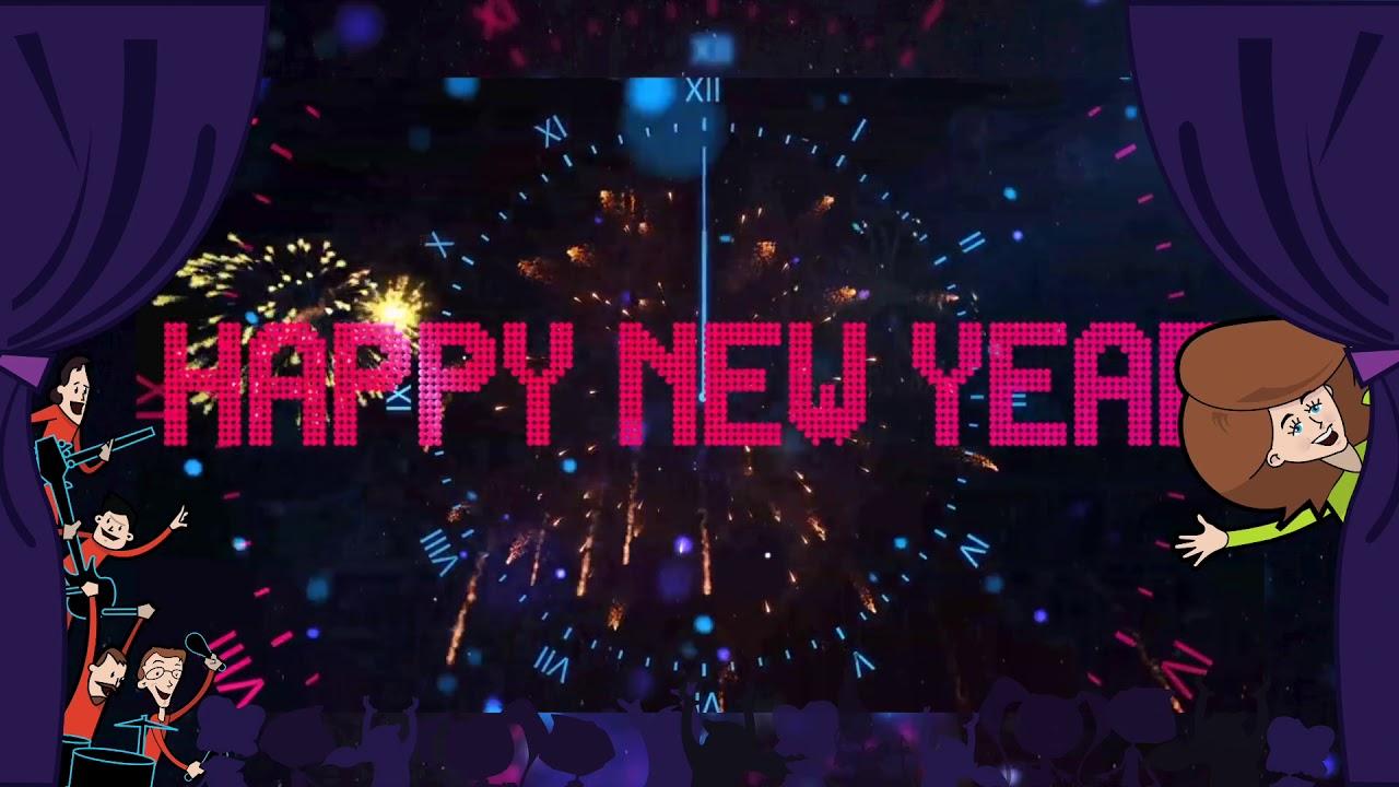 New Year S Eve Countdown Clock Youtube