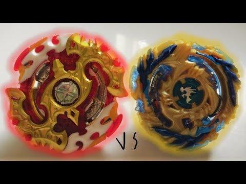 Spryzen Requiem S3 0 Zeta vs Fafnir F3 8 Nothing : Beyblade Burst Evolution