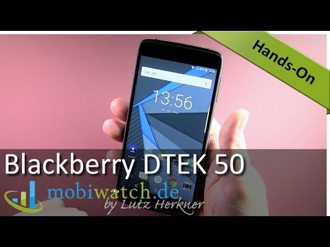 Blackberry DTEK 50 Hands-on: Erste Eindrücke des Preisbrechers | Test