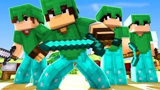 Minecraft: BED WARS - ITENS FORTE!