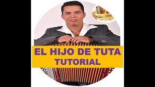 EL HIJO DE TUTA ACORDEON 5 LETRAS WILFER AREVALO