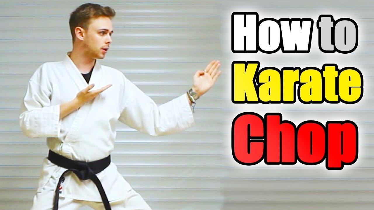 Let's Learn Karate with Chris | Episode 07 - Karate Chop