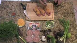 Stuffed Spicy Style Sausage Appetizer