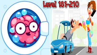 Brain Wash - All Levels 181-210 Solution Android Gameplay Walkthrough
