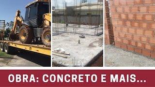 Estamos Construíndo: 3º Vídeo Concretagem, Impermeabilização e Paredes!