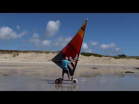 Speed sail - land sailing