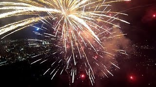 GoPro: Fireworks From A Drone