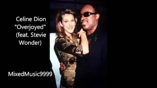 Celine Dion -  Overjoyed (Feat  Stevie Wonder)