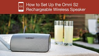 How to Set Up the Polk Omni S2 Rechargeable Wireless Speaker - iOS Device