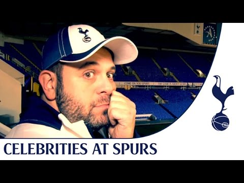 Man vs Food star & Tottenham Hotspur fan Adam Richman visits the Lane! Funny & emotional!