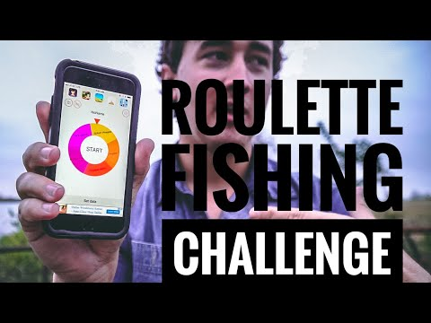 ROULETTE FISHING CHALLENGE ft. Jon B. & Chris Bulaw