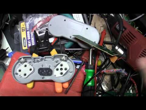 $2 Chinese SNES Controller to Arcade Stick Hack